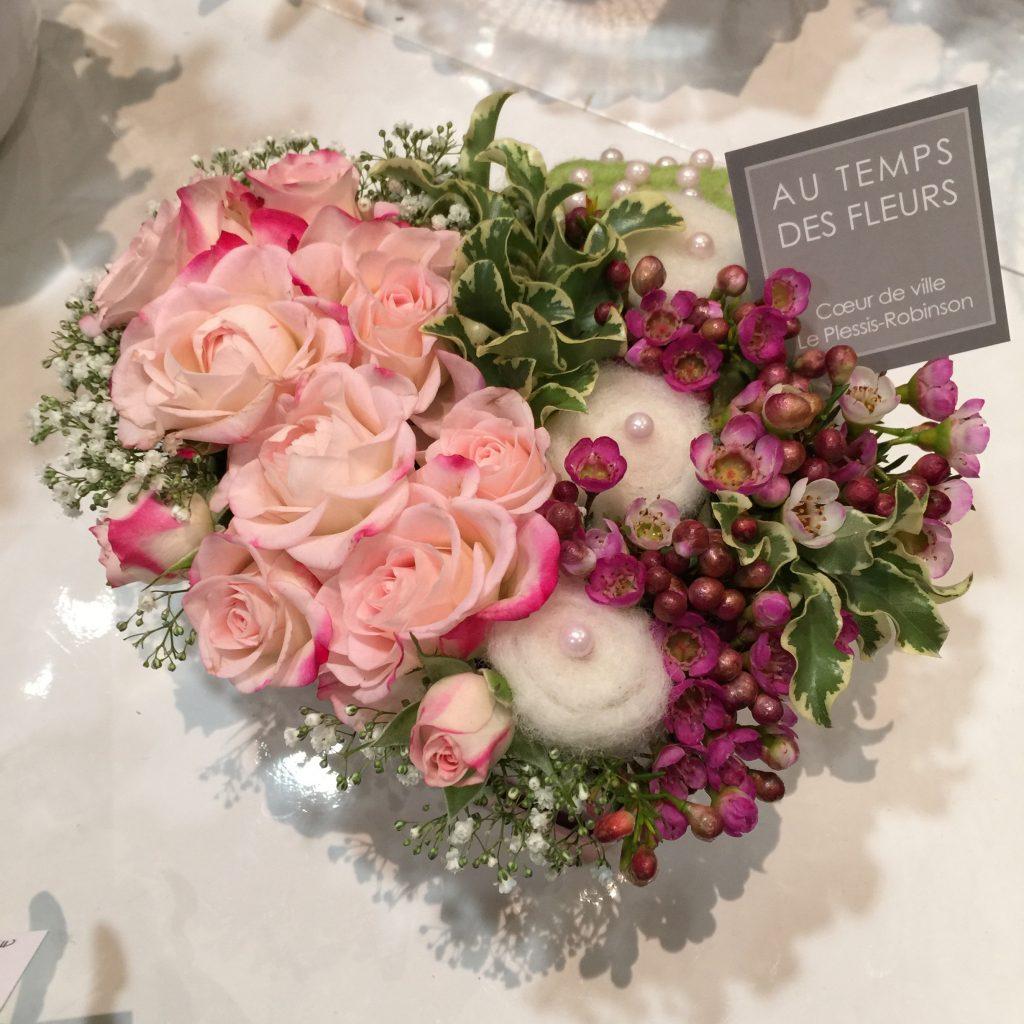 Composition florale mariage AU TEMPS DES FLEURS | Fleuriste au Plessis-Robinson